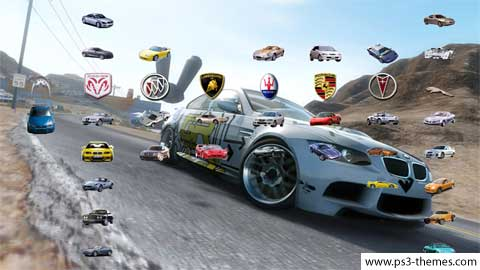 PS3 Themes Need For Speed Pro Street 2