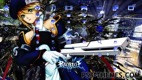 PS3 Themes » Blazblue: Calamity Trigger