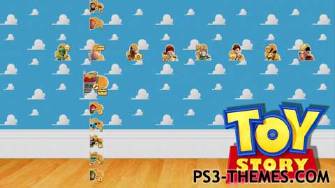 gallery for toy story clouds wallpaper