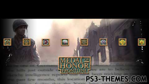 ps3 themes search results for medal of honor. Black Bedroom Furniture Sets. Home Design Ideas