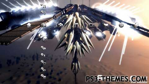 PS3 Themes Armored Core For Answer The Answerer