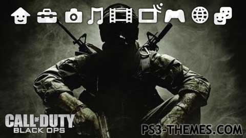 PS3 Themes CoD Black Ops II Dynamic Theme