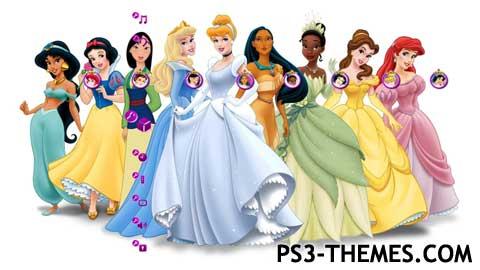 Ps3 Themes 187 Disney Princess Hd Theme Theme As The Princess