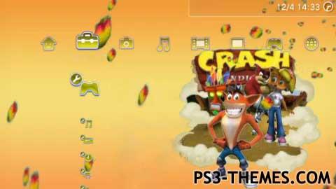 PS3 Themes » Crash Bandicoot Dynamic