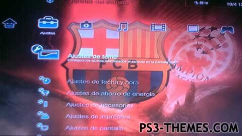 Ps3 Themes Fc Barcelona Dynamic Theme picture wallpaper image