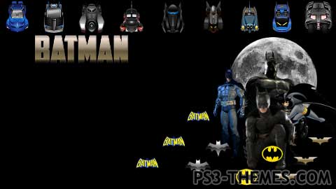 PS3 Themes » Batman Dynamic Theme