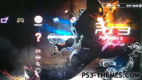 PS3 Themes » Dynamic PS3 Dance Theme