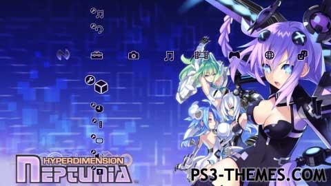 ps3 themes hyperdimension neptunia