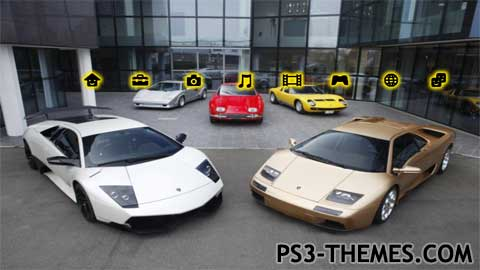 Ps3 Themes 187 Lamborghinis 2