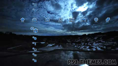 PS3 Themes » Ultimate Night Dynamic Theme