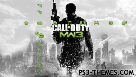 "Ps3 themes » search results for ""call of duty""."