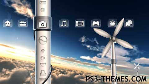 PS3 Themes » Wind Dynamic Theme (HD)