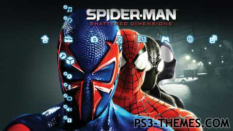 ps3 themes search results for spiderman