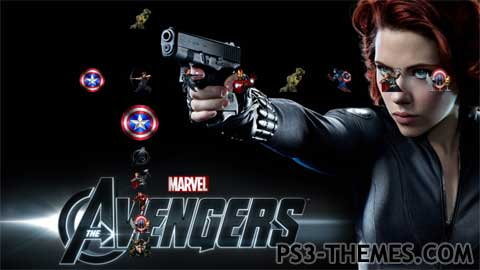 ps3 themes search results for the avengers