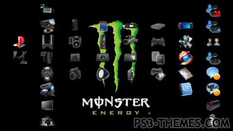 Ps3 themes monster energy hd 12 monster energy hd 12 voltagebd Images