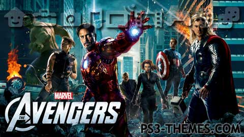 Ps3 Themes 187 The Avengers 3 D Dynamic Theme