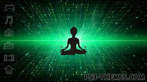 PS3 Themes » Yoga Animated