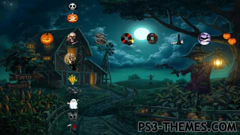 PS3 Themes » Halloween Theme #2