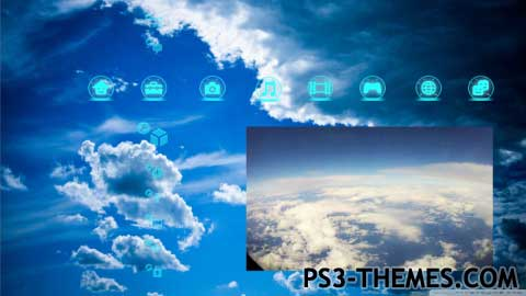 PS3 Themes » Clouds Animated Theme