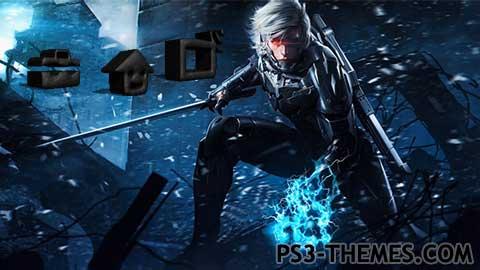 ps3 themes metal gear rising revengeance