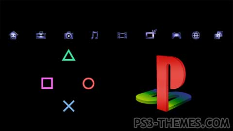 PS3 Themes » Playstation Custom Dynamic 3 v4.11