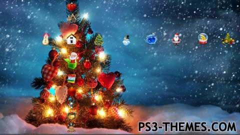 ps3 themes christmas theme