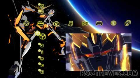 Gundam theme for windows 7.