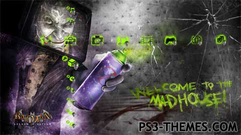 ps3 themes search results for joker