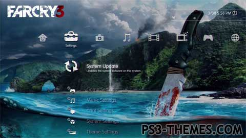 PS3 Themes » Farcry 3 Dynamic