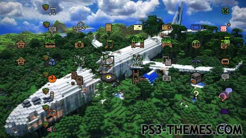 awesome minecraft theme with - photo #39