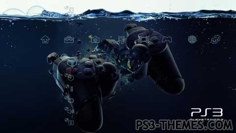 PS3 Themes » Time to Panic Dynamic/Static Theme