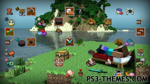 PS Themes Search Results For Minecraft - Minecraft spiele fur playstation 3