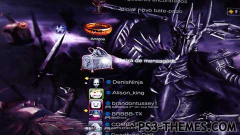 Ps Themes Lord Of The Rings