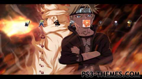 PS3 Themes » The Sage Of Six Paths And His Sons HD/SD