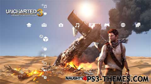 ps3 themes search results for uncharted 3