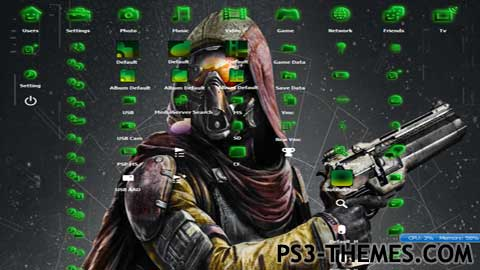 24174-Destiny_theme_with_green_icons