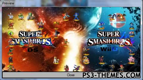 PS3 Themes » Super Smash Bros  Wii U & 3DS