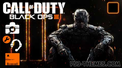 PS3 Themes » Call of Duty: Black Ops III Dynamic Theme