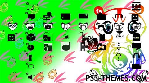 25094-colorful_panda