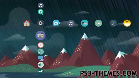 25343-Flat_Multi-Icon_Games_Theme