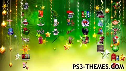 ps3 themes holiday seasonal